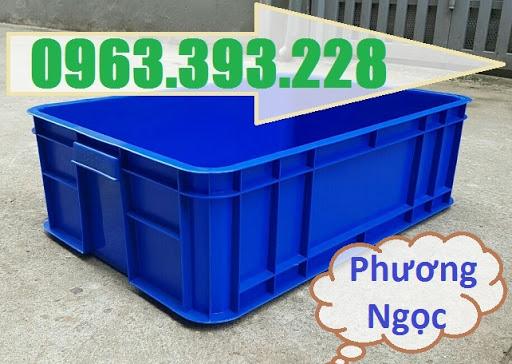 Thùng nhựa đặc HS003, sóng nhựa bít HS003, khay nhựa công nghiệp, T%25C4%2590195