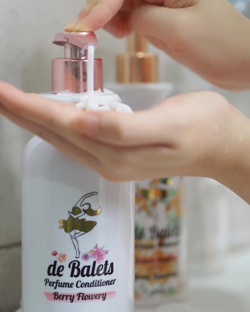 de Balets shampoo malaysian beauty lifestyle blogger cestlajez