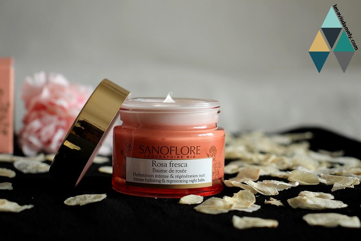 revue beauté rosa fresca bio sanoflore rose et acide hyaluronique
