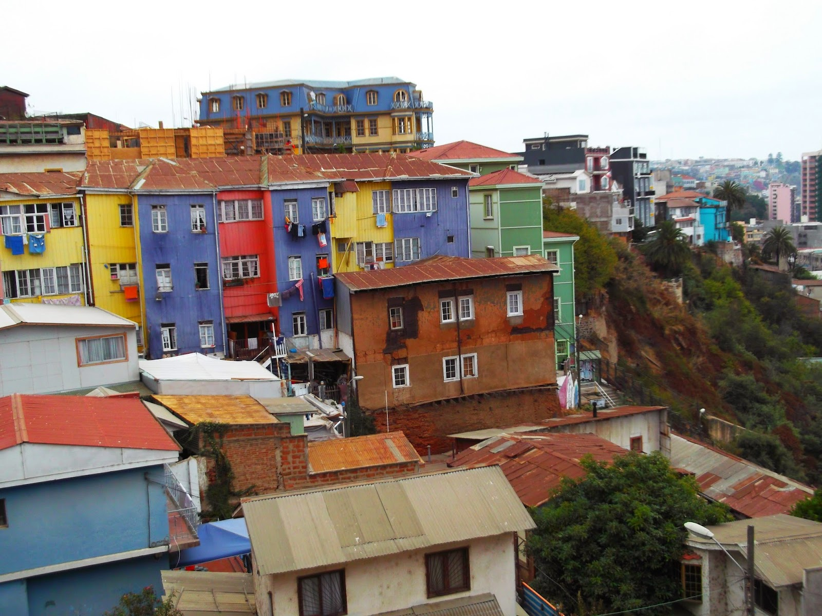 Andy's Travels: Valparaiso and San Pedro de Atacama