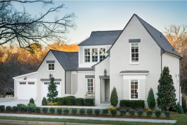 house color combination outside