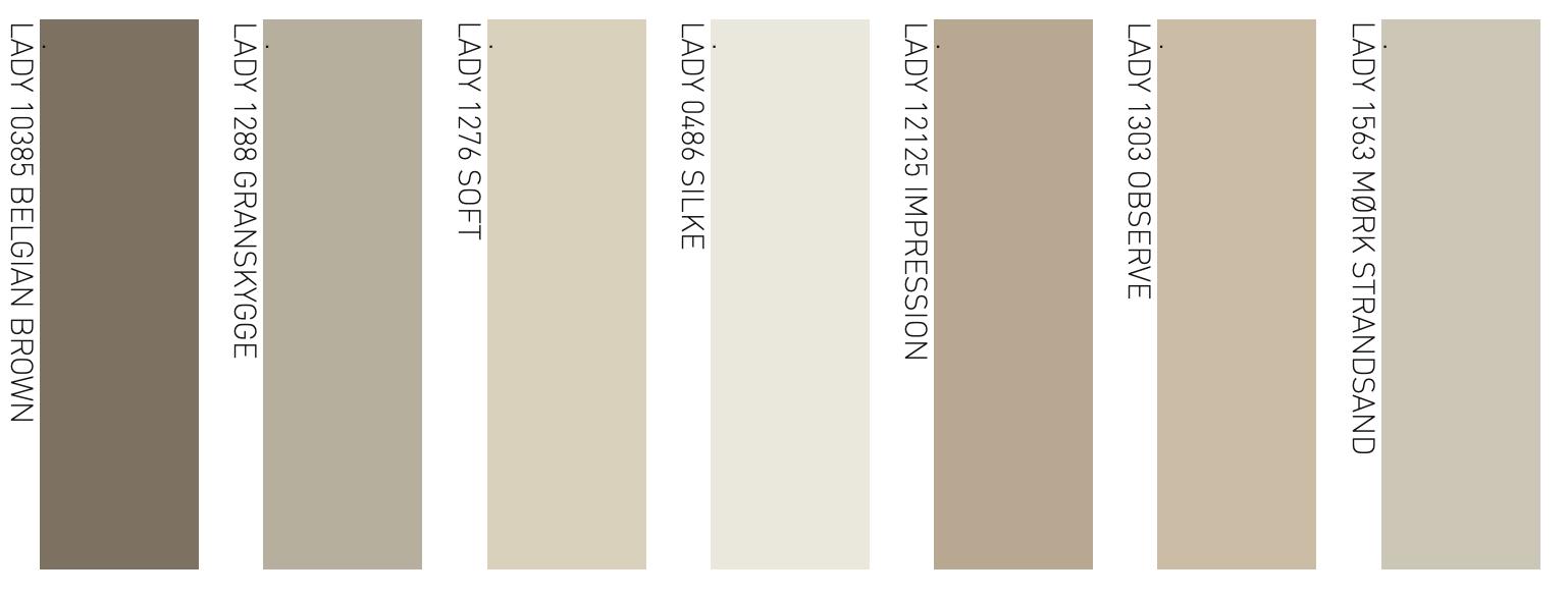 Palette colori neutri