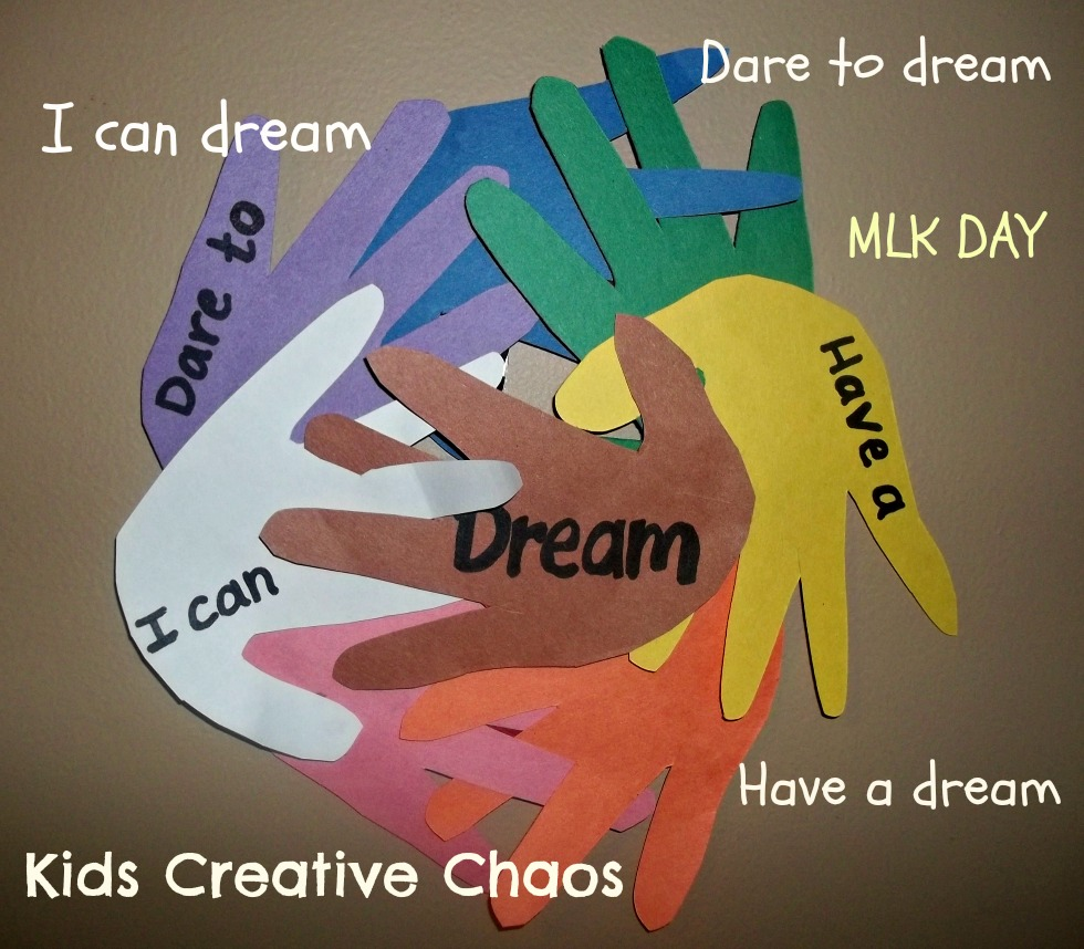 martin luther king craft ideas handprint catcher paper craft for martin luther king 6905