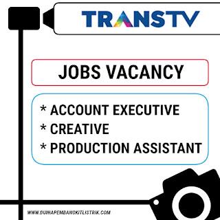 Trans TV Jobs: Account Executive | Creative | Production Assistant