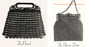 Crocheted Handbag Pattern in Gimp Corp