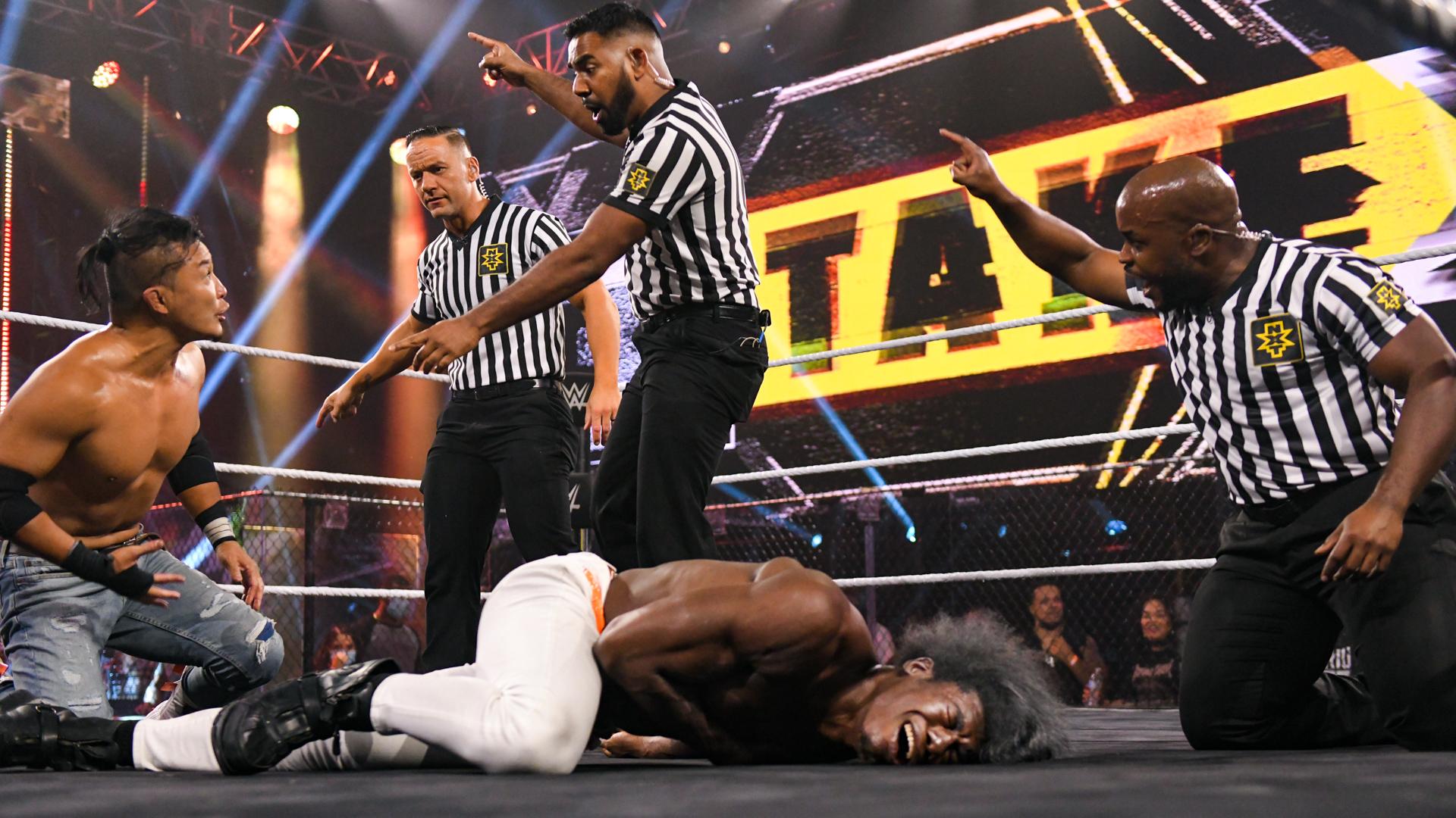 "KUSHIDA pode ter sofrido ""heel-turn"" durante o WWE NXT TakeOver: 31"