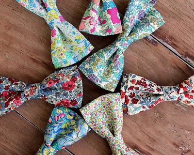 Because I'm Me liberty flower garden bow ties for men