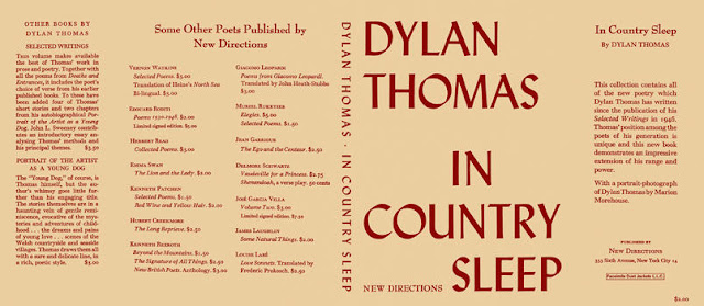 Do not go gentle into that good night est publié dans le recueil In country sleep de Dylan Thomas