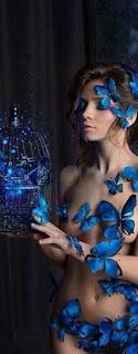 Mavi Kelebekler Omzunda Olsun