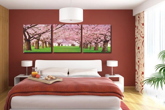 dekorasi kamar anak laki-laki dengan lukisan dinding