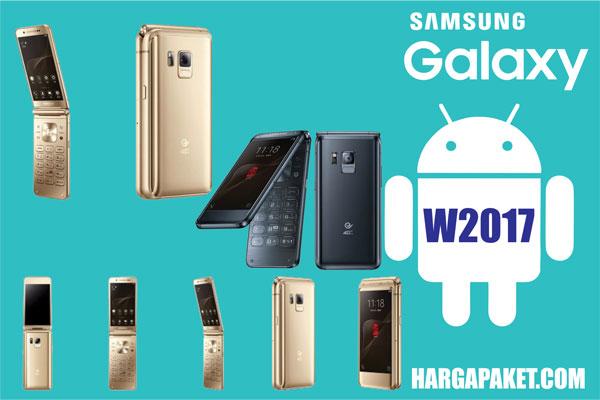 Harga dan Spesifikasi Samsung Galaxy W2017
