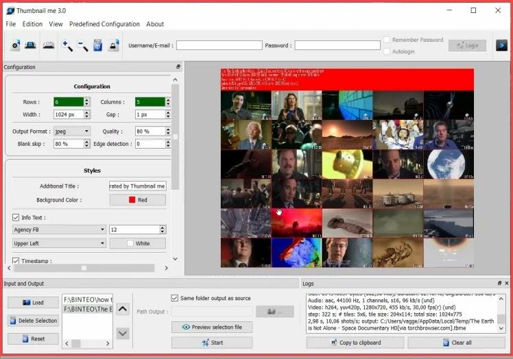Thumbnail me  : Εξάγετε φωτογραφίες  ή μικρογραφίες από τα βίντεό σας