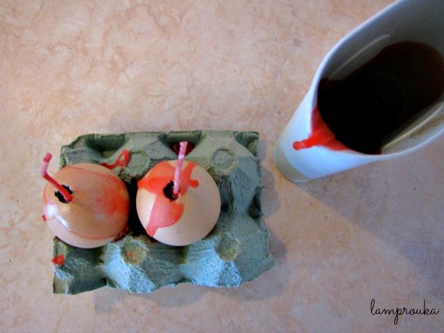 Πως να φτιάξεις αυγά κεράκια.