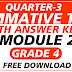 2nd Summative Test GRADE 4 Q3