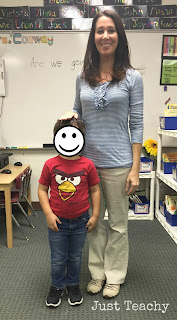 Comparing height around the classroom