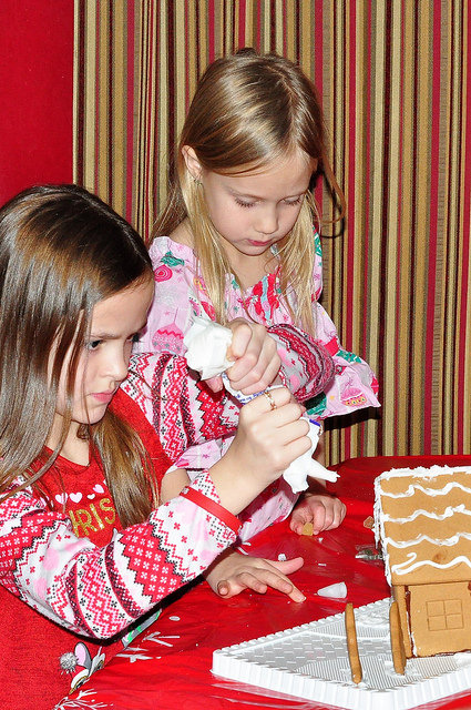 Gingerbread House Decorating Tradition