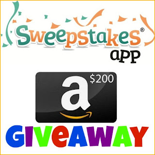 Sweepstakes App $200 Amazon Giveaway