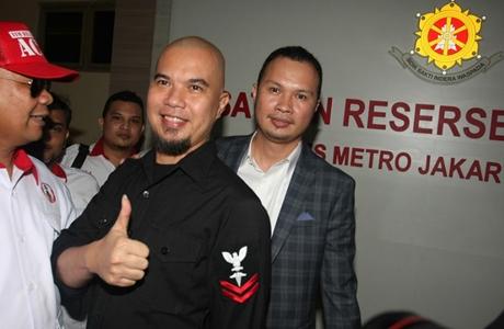 Ahmad Dhani Diperiksa, Fadli Zon Sambangi Polres Jaksel