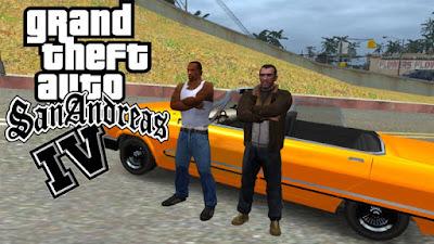 تحميل GTA IV San Andreas
