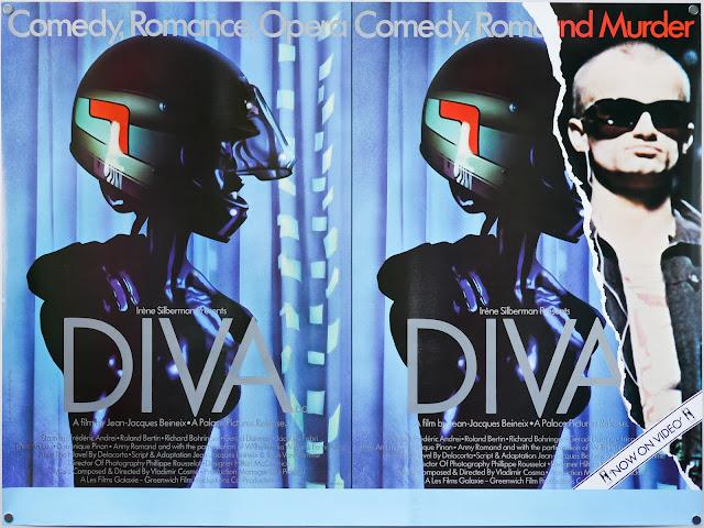 Diva (1981) - UK and Ireland Movie Poster