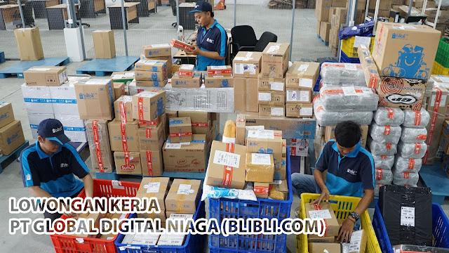 Lowongan Kerja Operator Gudang PT Global Digital Niaga (Blibli) Tangerang
