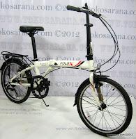 B 20 Inch Fold-X Hokaido 7005 Alumunium Alloy Frame Folding Bike