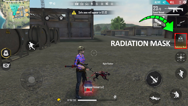 Cara Mendapatkan Token Radiation Mask Free Fire Event Survival Day