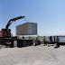 La Cazinou a inceput montarea containerelor pentru personalul ce va lucra la restaurare
