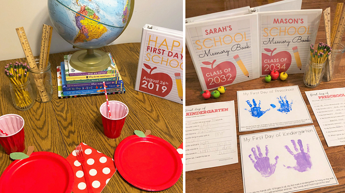 First Day of School Traditions Blog Post