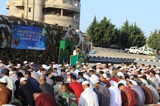 Prajurit Indobatt Rayakan Idul Fitri di Medan Operasi Lebanon