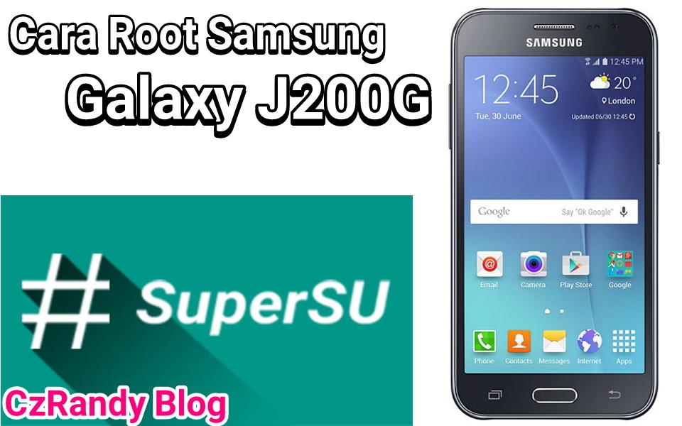 Cara Root Samsung Galaxy J2
