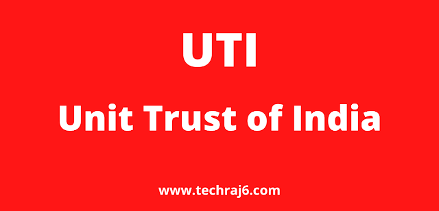 UTI full form, What is the full form of UTI