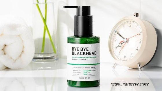 SOME BY MI BYE BYE BLACKHEAD MIRACLE TEATOX BUBBLE CLEANSER 120 GR