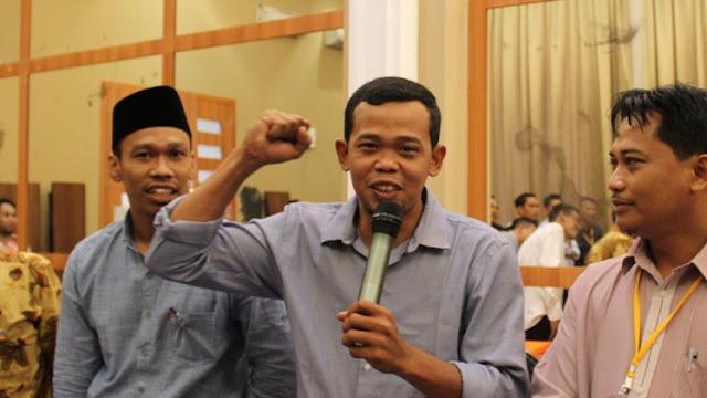 Anggota Panwaslu Kabupaten Indragiri Hilir (Inhil) Rois Habib