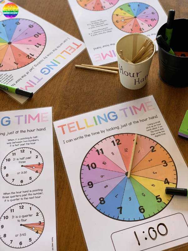 How To Teach Children to Tell Time   you clever monkey