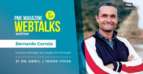 Bernardo Correia é a figura de capa da 20ª edição da PME Magazine