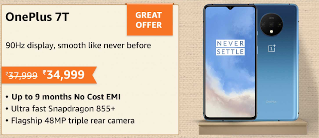 oneplus 7T offer