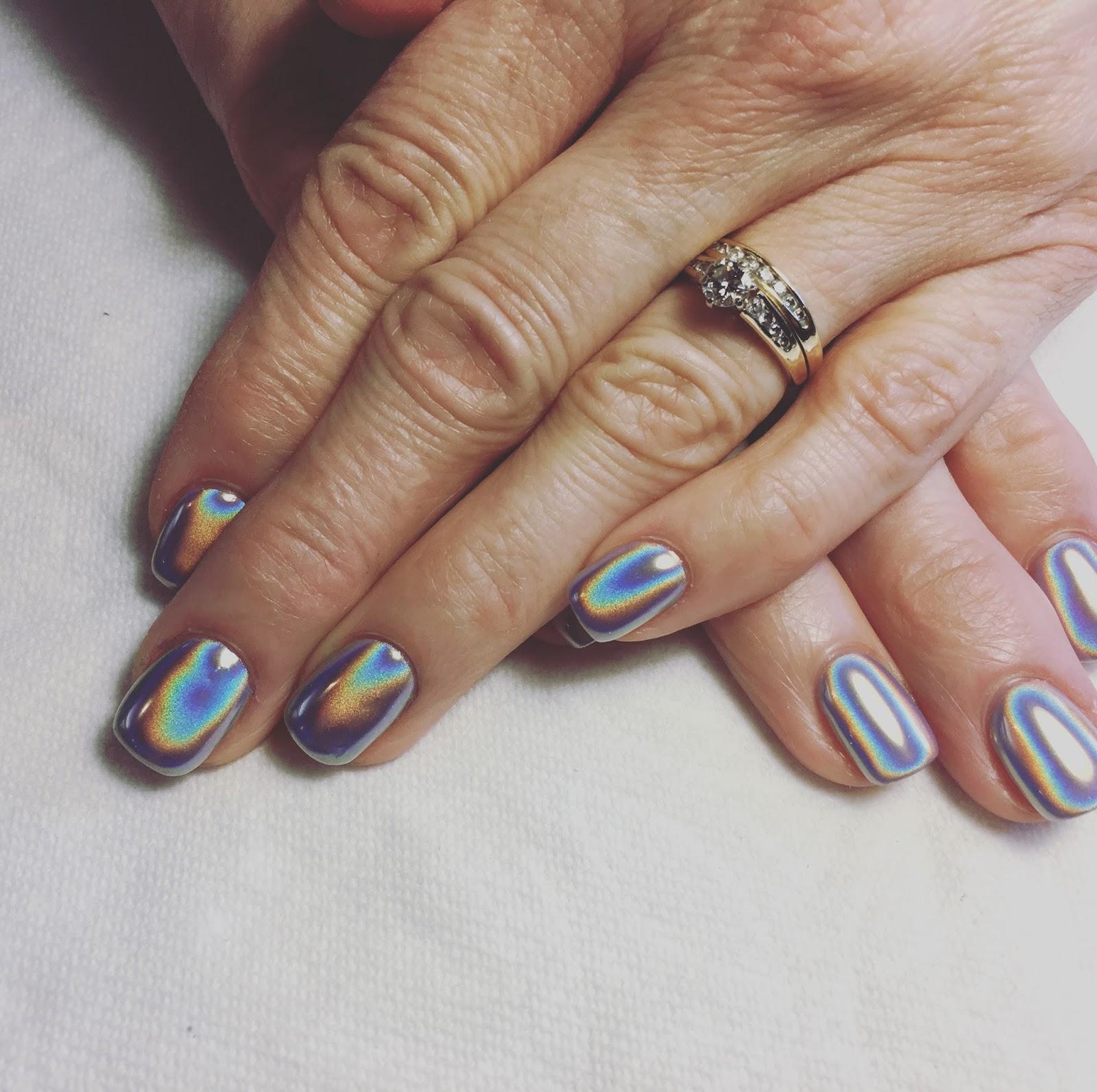 The best chrome powder mirror nails