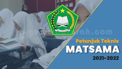 Panduan Pelaksanaan Masa Ta'aruf Siswa Madrasah (MATSAMA) Tahun 2021