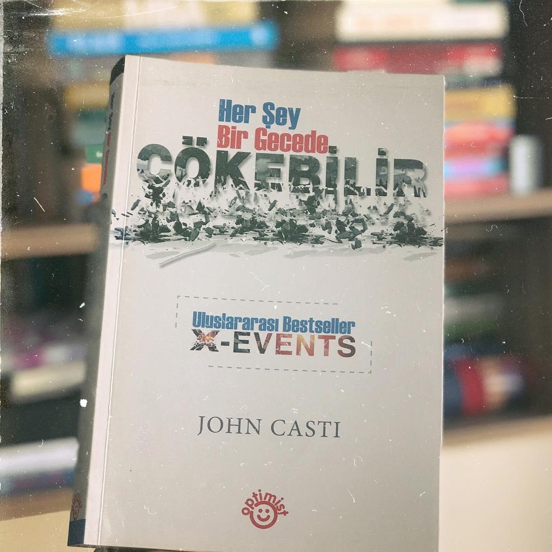 Her Şey Bir Gecede Çökebilir - X-Events (Kitap)
