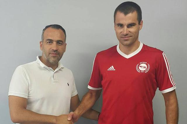 Η ομάδα του Ναυπλιο 2017 απέκτησε τον Τάσο Διαμαντή