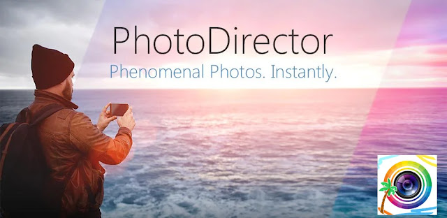 تنزيل تطبيق PhotoDirector Photo Editor App  محرر صور فريد لنظام الاندرويد