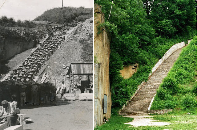 The Infamous Mauthausen Stairs of Death