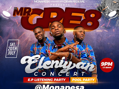 Mr Gre8 Eleniyan Concert & EP Listening Party || @Iamgre8 @gbetutv