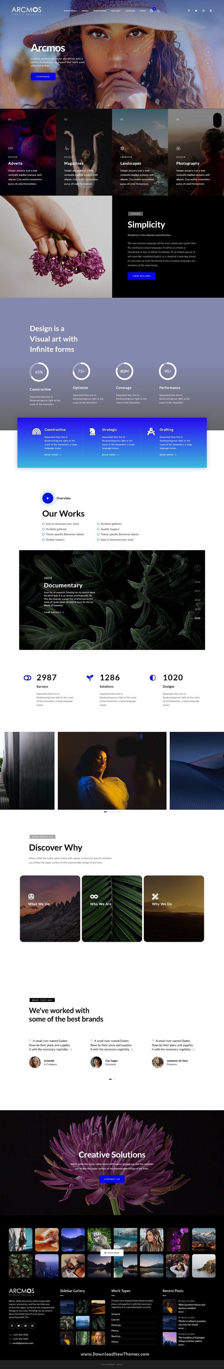 Creative Portfolio Theme