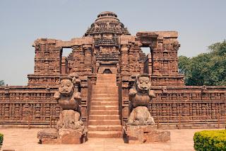 कोणार्क सूर्य मंदिर , उड़ीसा । Konark Sun Temple, Orissa