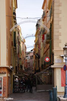 Vie del centro della Rocca di Monaco