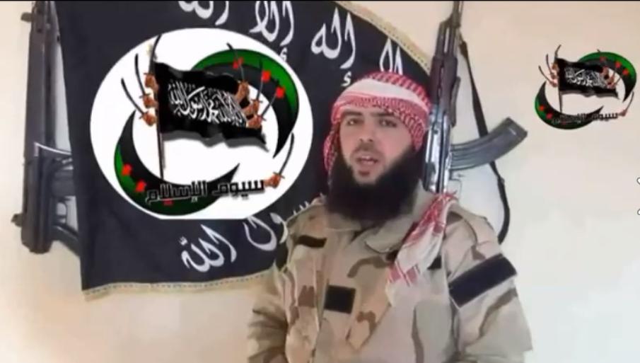 φωτογραφία του ηγετικού στελέχους της Ταξιαρχίας που εξέδωσε βιντεοπροκύρηξη