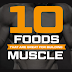 Food diary for increasing muscle Mass #infographic