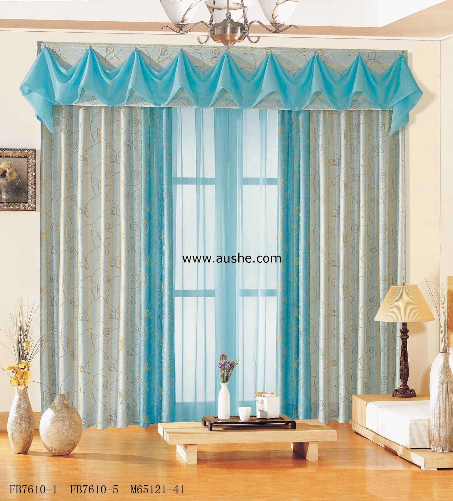 The Most Attractive +beautiful Curtain Designs And Blue